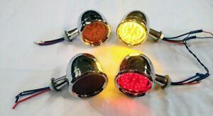 "Tail lights/Marker lights 3"" Universal Custom Hotrod,Chevy,Ford,Dodge,Buick"