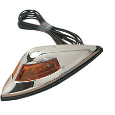 Drag Specialties Nostalgia-Style Front Fender 12V Light for Harley Motorcycles