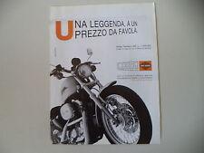 advertising Pubblicità 2001 HARLEY DAVIDSON SPORTSTER 883