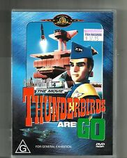THUNDERBIRD ARE GO (2001. DVD) PAL Region 4: Gerry Anderson's Puppetry