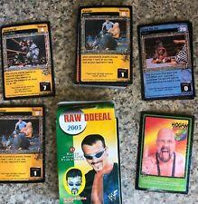 NEW WWF RAW DDEEAL COLLECTIBLE CARD GAME WCW NITRO 2005 Raw Deal Buff Bagwell