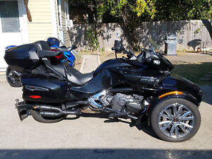 2016-2020 Can- Am Spyder F3 Touring Limited RLS exhaust Twin Kaos series black
