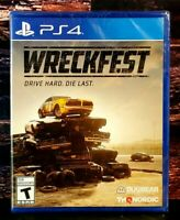 Wreckfest - Sony PlayStation 4- PS4 - Brand NEW Sealed