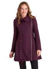 Joe Browns Absolute Coat Plum Size UK 18 Dh182 NN 06