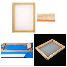 10x14'' Wooden Silk Screen Printing Frame and 9'' Screen Printing Squeegee