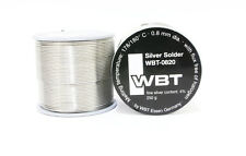 WBT 0820 Silver solder 250g/73M*1pcs for RCA plug wire tube amplifier