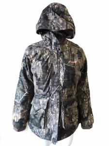 Ladies Parka Jacket Realtree Waterproof & Windproof Insulated Heavy Outdoor