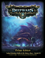 DeepWars hardcover rulebook -  28mm scale tabletop underwater wargame rules