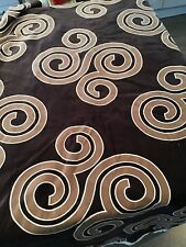 Upholstery Remnant Fabric Craft Material Bronze Floral