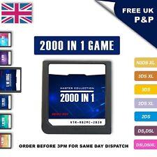 DS Juego 2000 en 1 Juego De Cartuchos Nintendo tarjeta para 3DSXL 2DSXL DS Pokemon Mario
