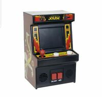Midway Classic Arcade JOUST Electronic Video Game Mini Cabinet w/ Batteries NISB