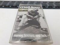 Rare Sealed Mel-low Black Cassette Money, Houses, and Ho's Audio Tape C22-1