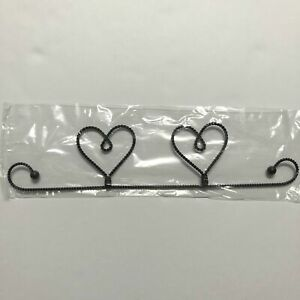 Heart Twisted Wire Quilt Hanger 12 inch (31cm) perfect for displaying your craft