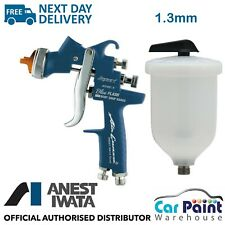 Anest Iwata AZ3 HTE S IMPACT Blue Flash Spray Gun Ltd Edition 1.3mm Tip