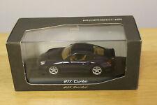 Minichamps Porsche 911 Turbo 1:43 Scale Mint Dark Blue