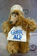 "Vintage Cooking with Alf Puppet 1988 13"" Burger King Alien Productions from TV"