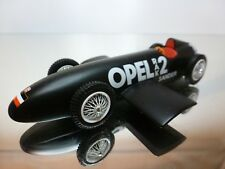 SPARK OPEL SANDER RAK 2 LAND SPEED CAR 1928-29 - BLACK 1:43 - EXCELLENT - 20+21