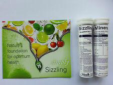 Sizzling Minerals Simply Naturals Natural Flavour FREE SAMPLE+BROCHURE+REPORT