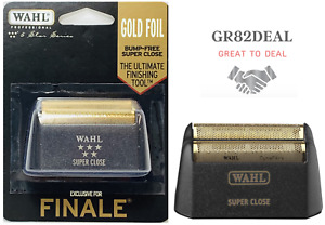 Wahl 7043-100 Finale 5-Star Series Gold Foil Shave Replacement Foil For Finale