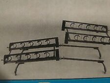 NEW-Barrecrafters Roof Mount Ski Rack-SR-84 For Van 5 Skis/Locks - Side Load