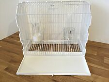 PLASTIC TRANSPORT BOX / DISPLAY CARRY/CAGE FINCH, BUDGIE, CANARY BIRDS etc