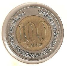 Albania 100 Leke 2000 bimetallici perfetti