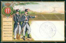 Militari Reggimentali 11º Reggimento Fanteria cartolina XF4390