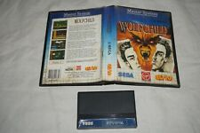 Wolfchild (Sega Master System SMS) with Case GOOD Shape Tec Toy