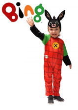 Ciao 11280.4-5 Bing Coniglietto Costume per Bambino Unisex (4-5 anni) - Rosso, Nero