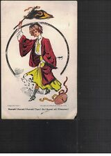 Postcard College Girl 1904 Series 1, Princeton in red, 1906 Cancels
