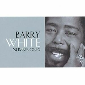 BARRY WHITE - NUMBER ONES NEW CD