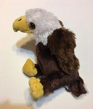 Webkinz GANZ American Bald Eagle Plush Retired HM214 No Code