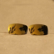 Bronze Gold Mirrored Replacement Lenses for-Oakley Gascan Sunglasses Polarized