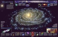 La Vía Láctea por National Geographic Maps (Hoja Mapa, 2005)