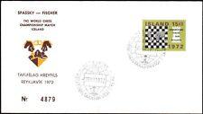World Chess Championship Aug.29 1972  in Iceland Spassky-Fischer #4879