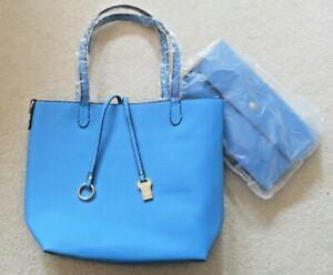 Franchetti Bond Leather Bucket Bag & Matching Clutch Purse
