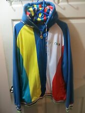 Coogi Men s Muti colored Hooded Track jacket shirt and Jeans Outfit