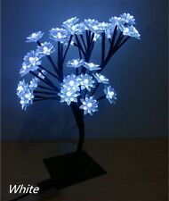 * New LED Lotus Flower Tree Lamp Table Lamp Night Lights Bedroom Decoration
