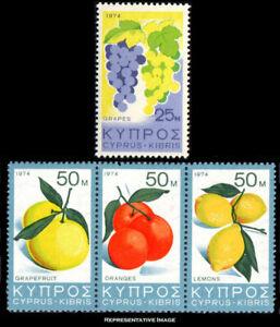Cyprus #Mi522-Mi524 MNH 1980 Moscow Olympics Sailing Swimming Gymnastics [535-7]
