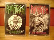 "PHANTASM - ""The Abominable"" & ""Lycanthropy"" cassettes 2016 Dread Rec./ Brand New"