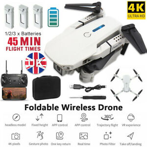 2021 Drone RC Drones Pro 4K HD Camera GPS WIFI FPV Quadcopter Foldable Bag Gifts