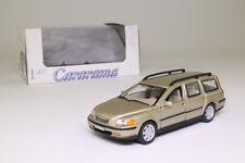 Cararama 00143; Volvo V70 Estate Car; Gold Metallic; 1:43 Scale Excellent Boxed