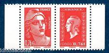 P4991 type 1 horizontale Gandon et Dulac de carnet libération 2015 cote:15€