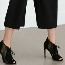 Zara Stiletto Ankle Boots for Women