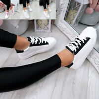 WOMENS LADIES SNAKE SKIN GLITTER LACE UP TRAINERS PLIMSOLLS SNEAKERS SHOES