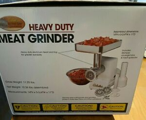 Cabela's Heavy Duty Meat Grinder Open Box