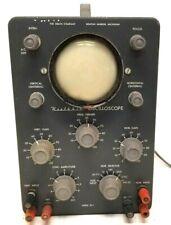 Vintage Heathkit Oscilloscope Model Ol 1 Electronic Testing Equipment