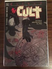 Batman: The Cult Complete Set Issue #1 Signed by the late Berni Wrightson VF/NM