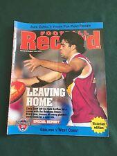 Vintage VFL/AFL 1996 Football Record Geelong V West Coast