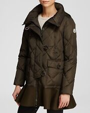 Moncler Vauloge Skirted Down Coat Jacket Paffer  size 3 $1795 NEW